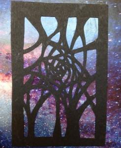 window to stars